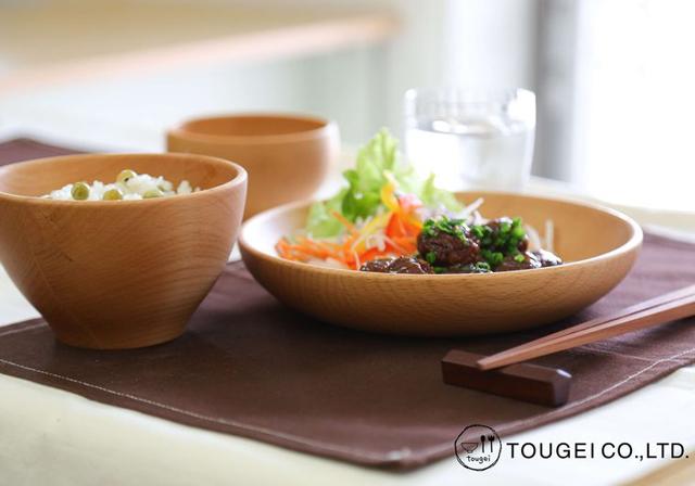 木製食器(籐芸)